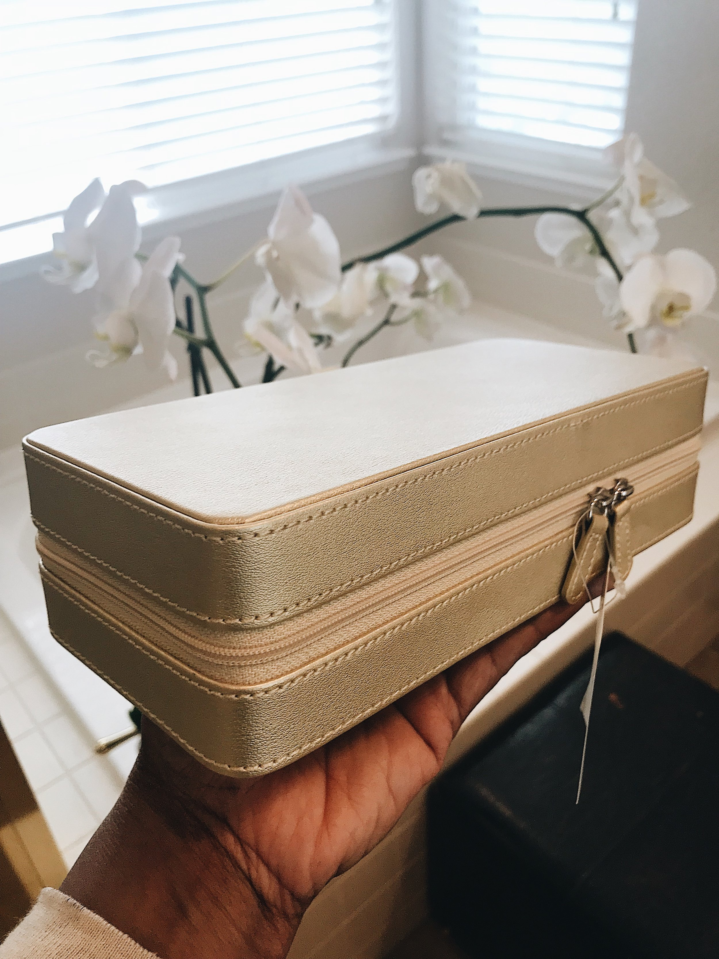 @nordstromrack.com $29   The sturdy case protects your fragile jewelry from the weight of your suitcase contents...
