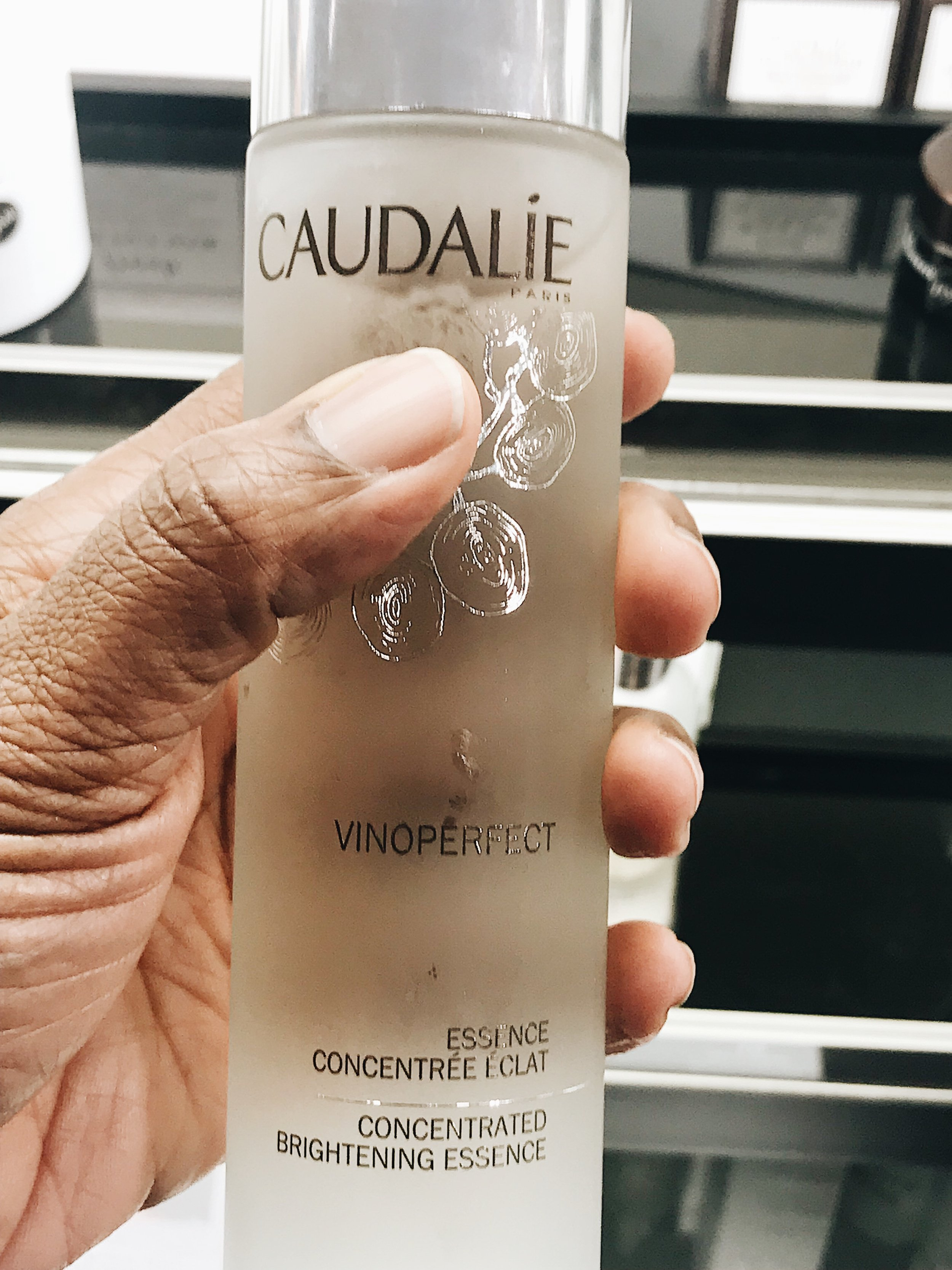 """""""CAUDALIE is one of my favorites, however, the essence that I have used for months is no longer sold at my SEPHORA. """"MAY COOP""""-Essence"""