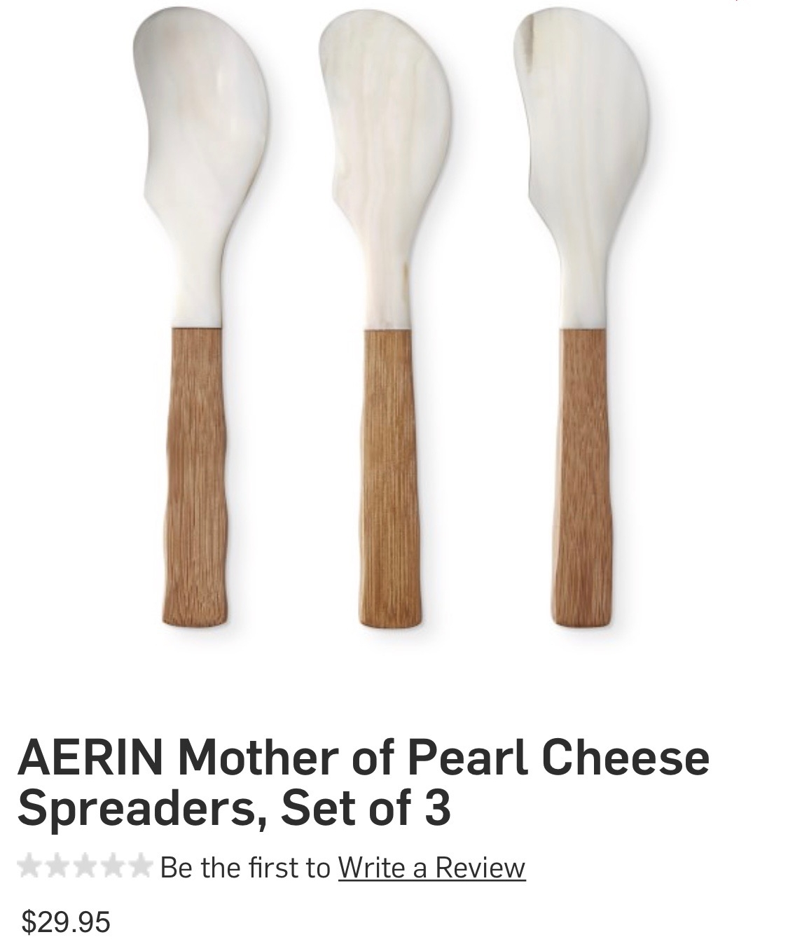 Another great gift idea for me or my mom. From williamsonoma.com