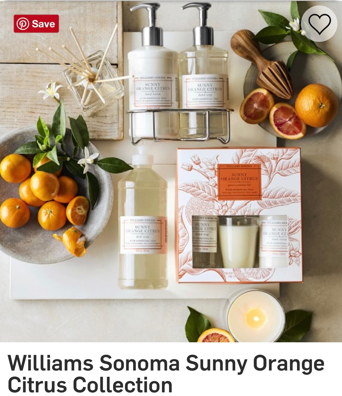 Citrus scents are my most favorites. This set is so pretty and fresh and clean and chic! I love this ideas for any gift...
