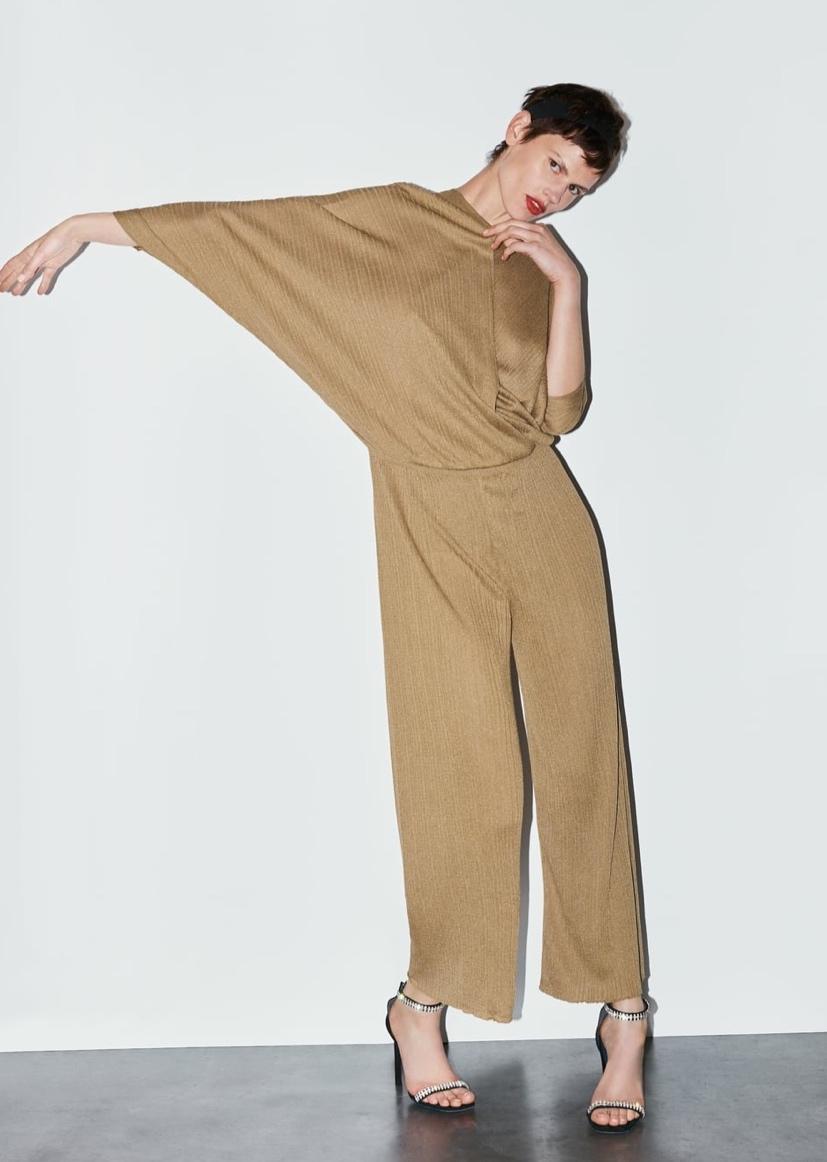 Flowy Knit Jumpsuit