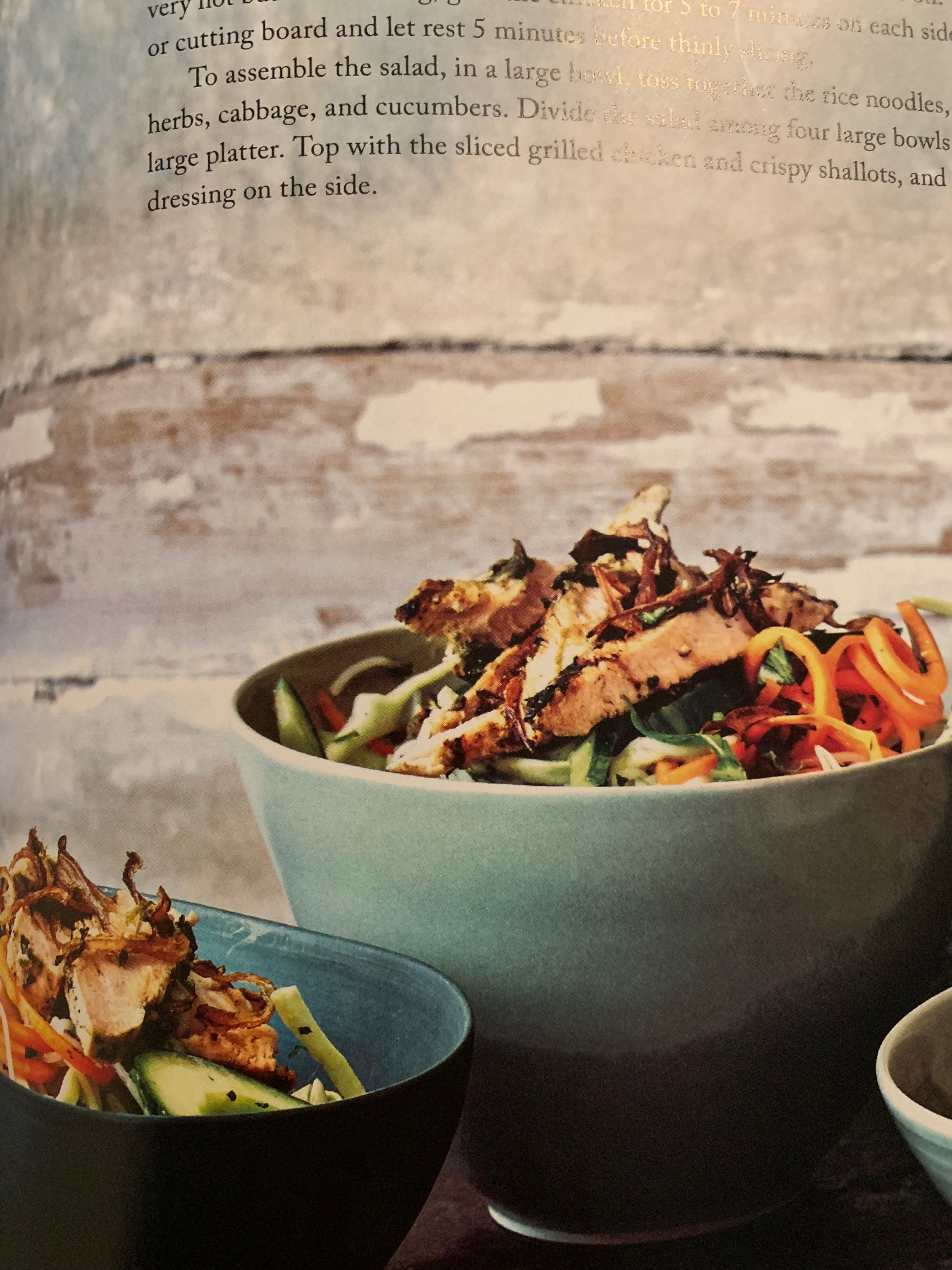 """Healthy Cravings…  Another favorite of mine from Gwyneth Paltrow  """"It's All Easy""""  BO BUN SALAD  Vietnamese salads, healthy fresh and gluten free. PAGE 128"""