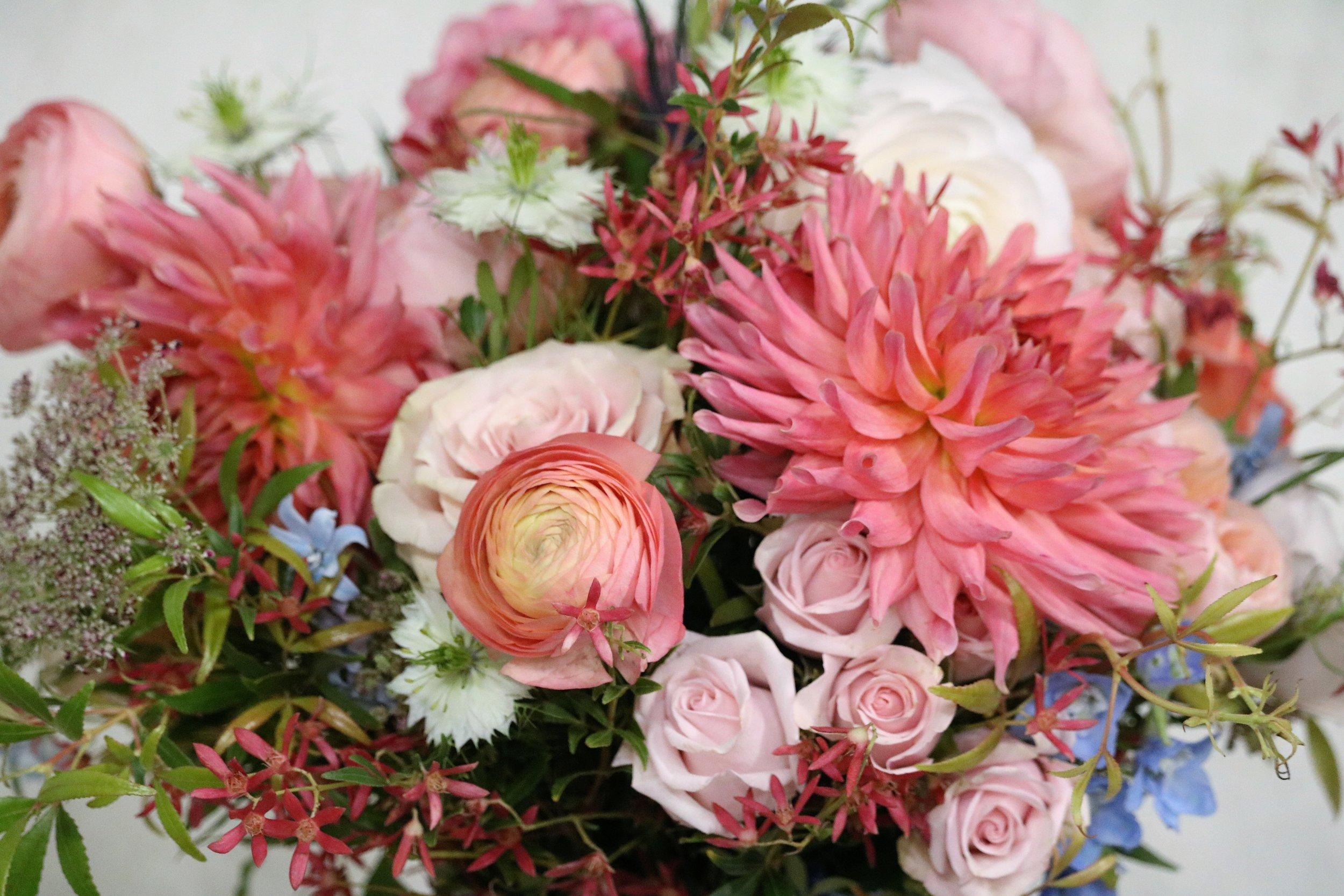 Heidi's Bridal Bouquet