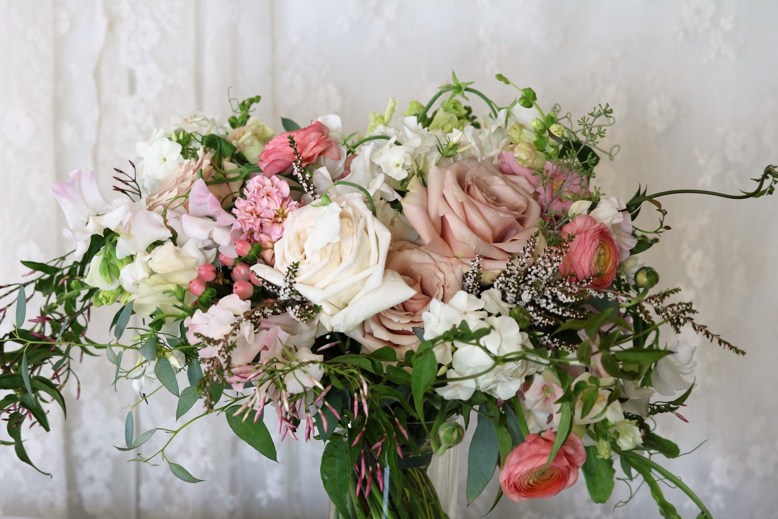 Kristina's Bridal Bouquet