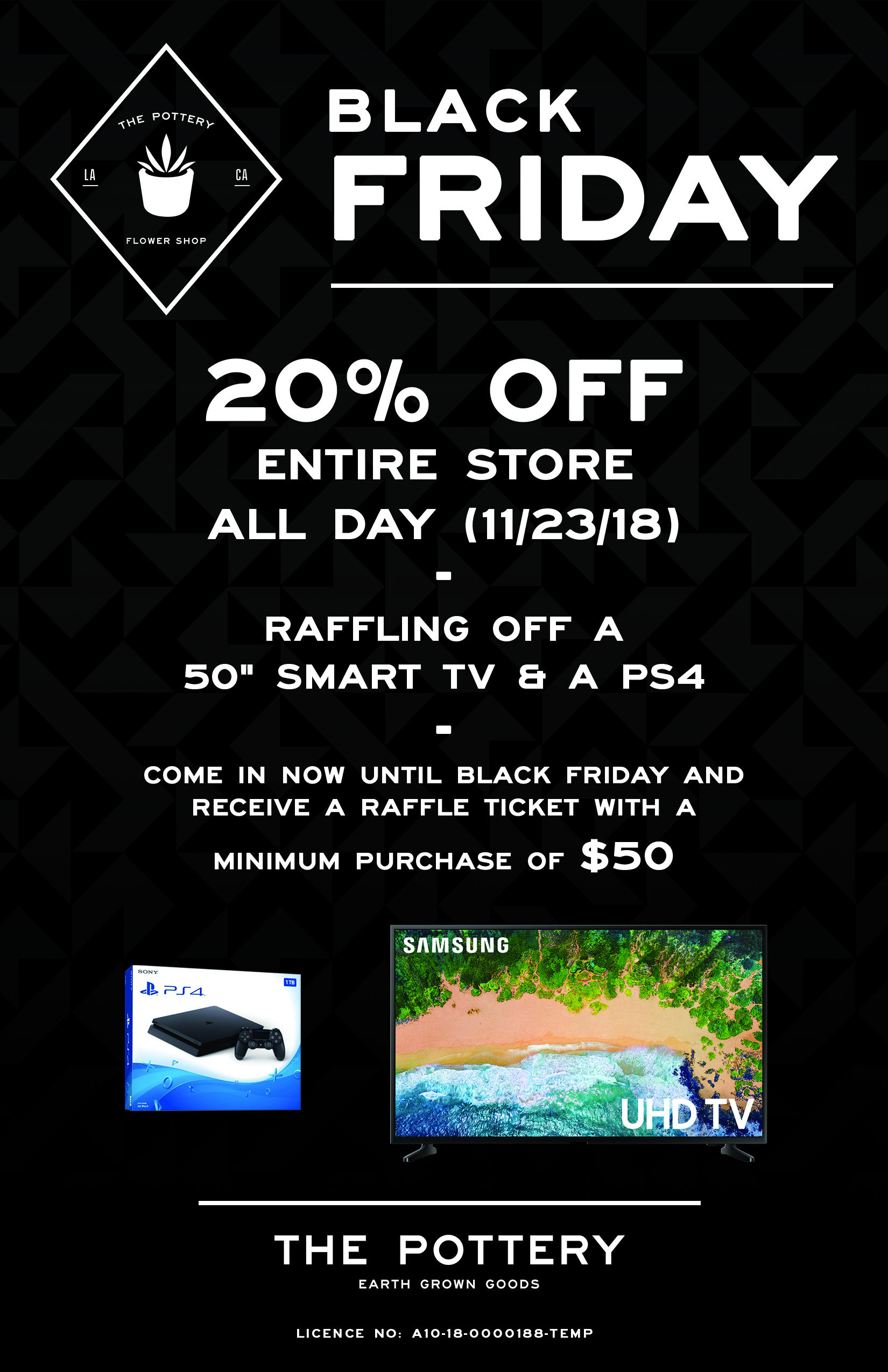 The Pottery Black Friday Flyer