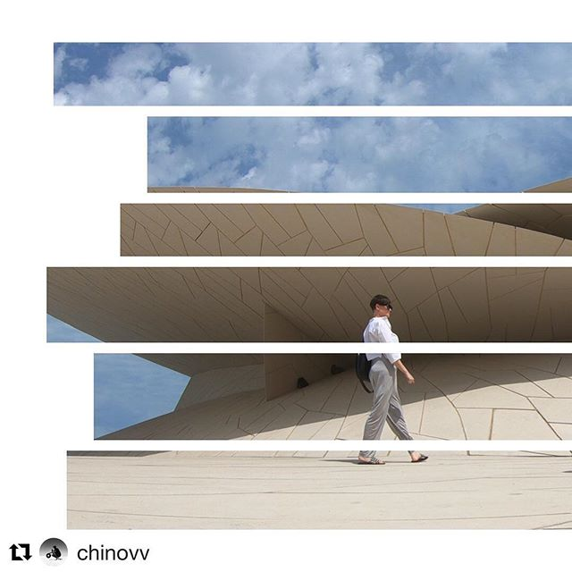 #Repost @chinovv with @get_repost ・・・ Checking out the new @nmoqatar with @alexlotus | AMAZING experience, the visuals are unreal!!! #seemydoha #doha #Qatar #Film #architecture #history #Culture #MiddleEast #qatarinstagram