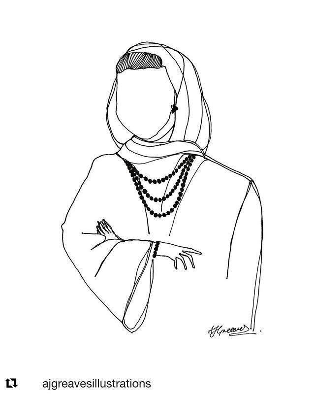 #Repost @ajgreavesillustrations with @get_repost ・・・ Eid Mubarak! Sheikha Moza 💯 [200 QR] #eidmubarak #eidmubarak2019 #experimentalart #experimentaldrawing #ajgreavesillustrations #originals #sheikh #althani #doha #sheikhamoza #sheikhamozah #qatarroyalfamily #qatarroyals • only one • go to @ajgreavesillustrations and reserve through DM 👑
