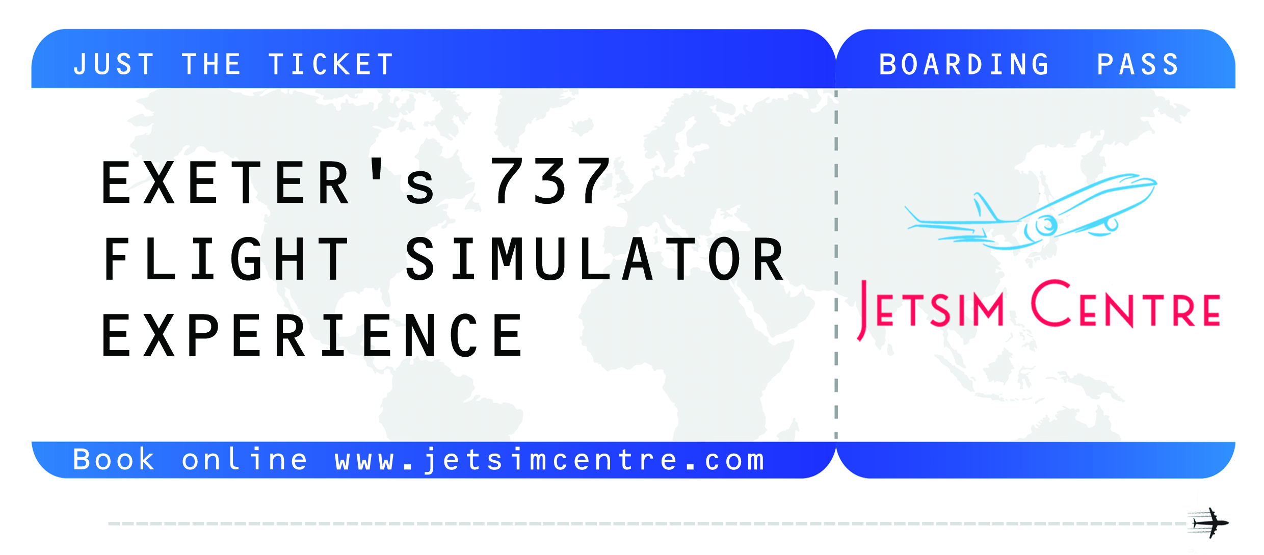 If you're looking for the perfect gift - we have just the ticket.  Book online  www.jetsimcentre.com/book-a-flight