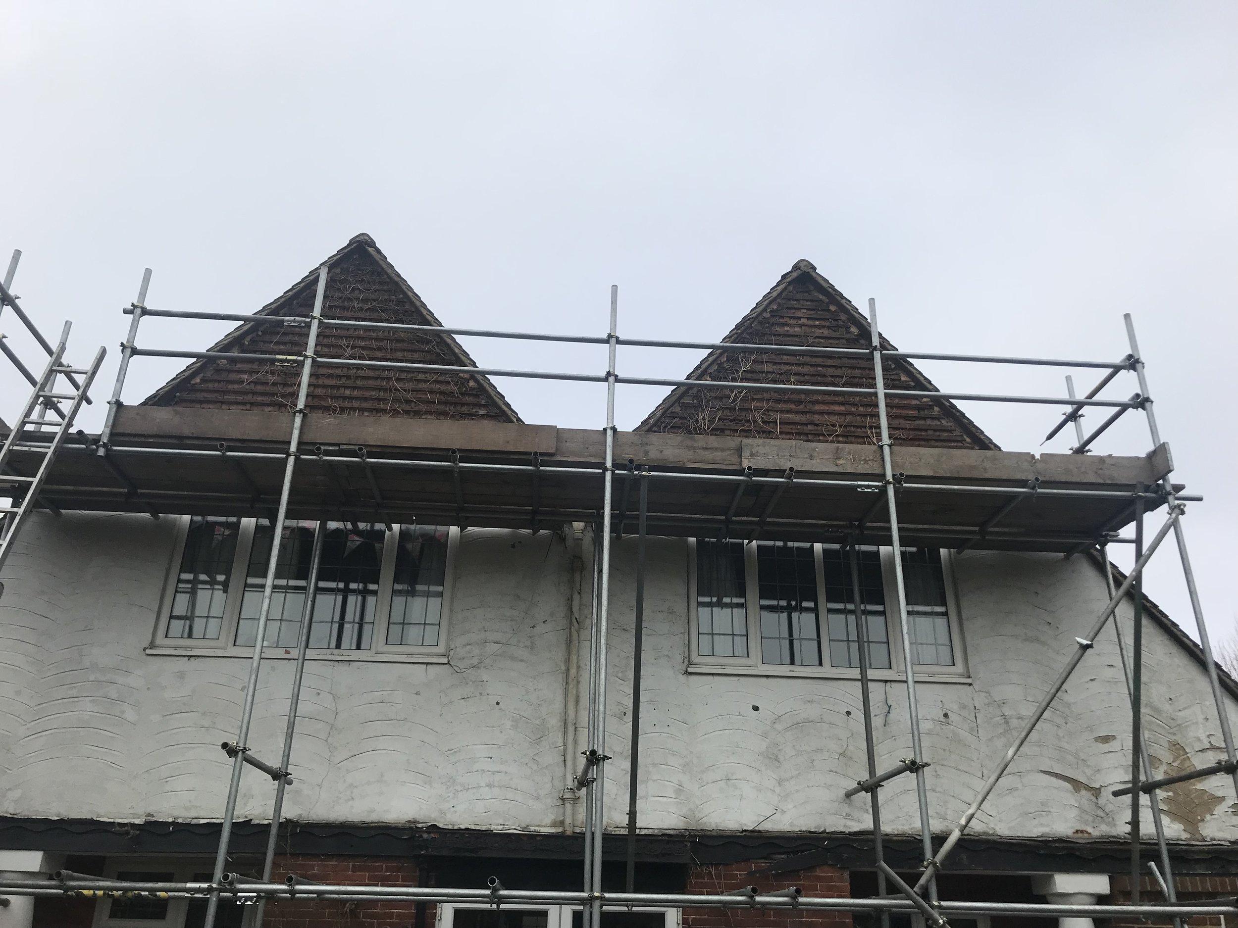 Local scaffolding service