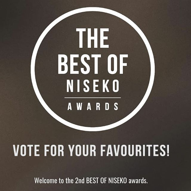 The 2nd Best of Niseko is now open for voting! Head over to the link in out bio to vote for your favourite establishment now! . . . #exploreniseko #whatsonniseko #bestofniseko #bestofnisekoawards #bestofthebest #coffee #favourite #winter #chooseyouradventure #niseko #nisekowinter #japan #travel #activity #adventure #experience #awards #vote #ニセコ