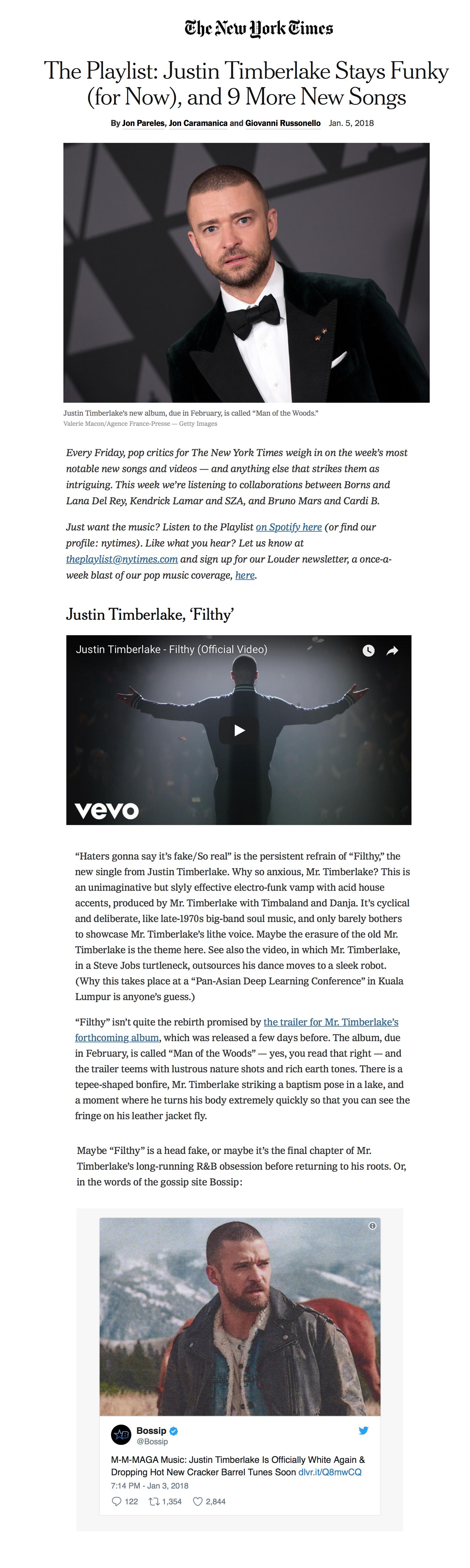 NY Times: Bastard Jazz's feature