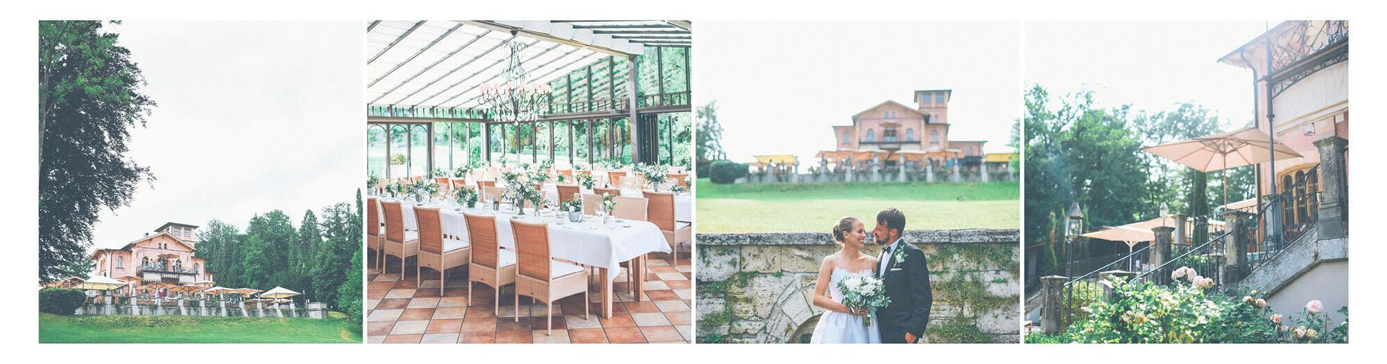 Hochzeitsfotograf La Villa am Starnberger See