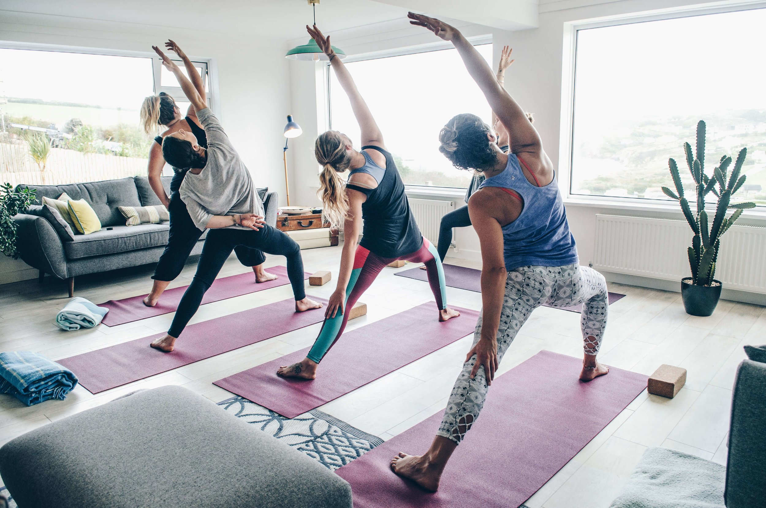 yoga retreat Cornwall