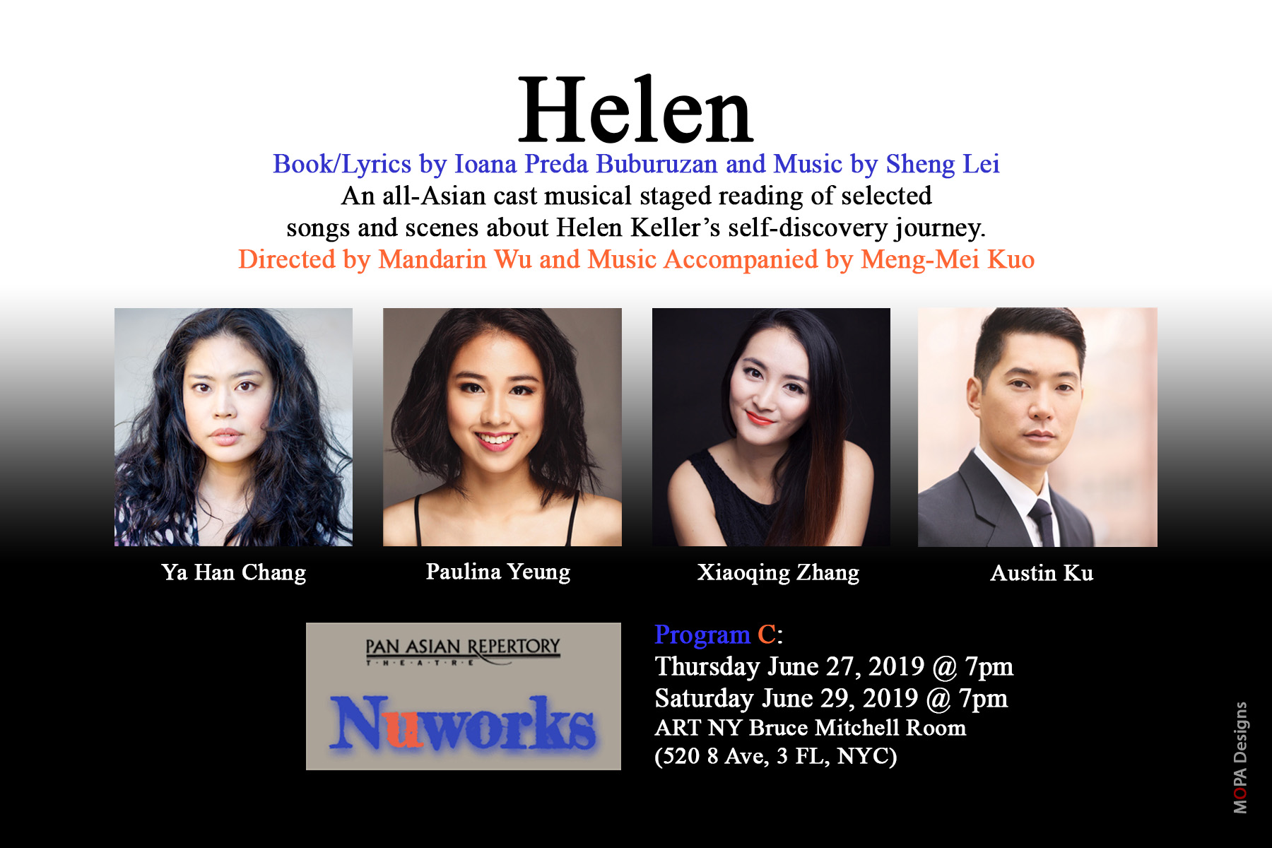 Helen: A Staged Reading - Pan Asian Repertory NuWorks Festival