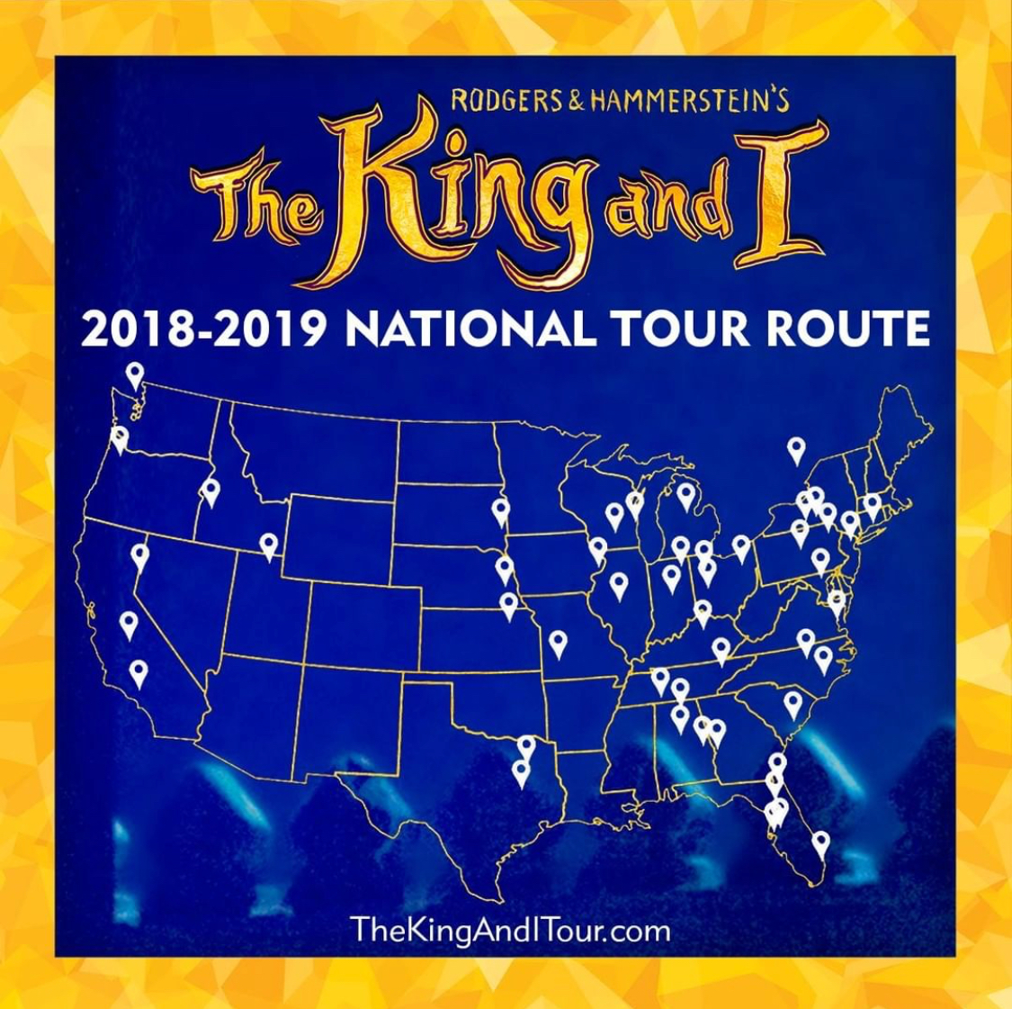 The King and I US National Tour - Based on the Lincoln Centre Production
