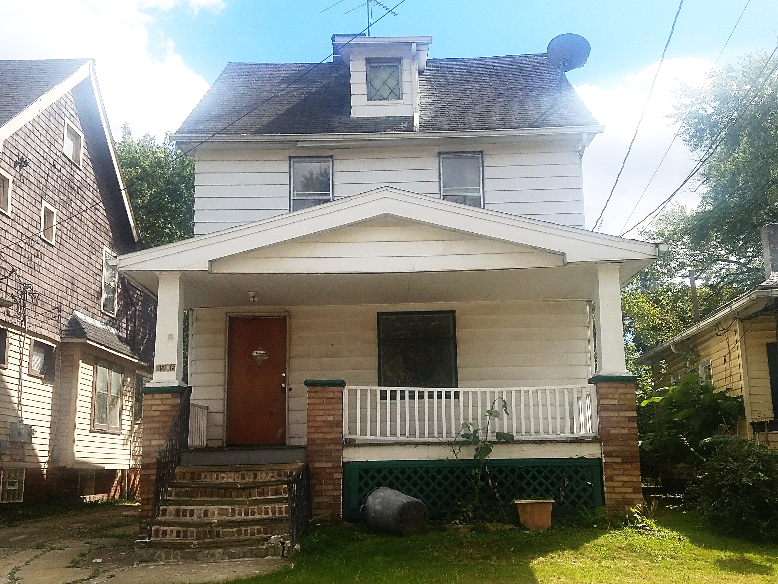 8906 Tioga Ave., Cleveland | 3 Bed 1 Bath | 1,115 Sq. Ft. | $14,800