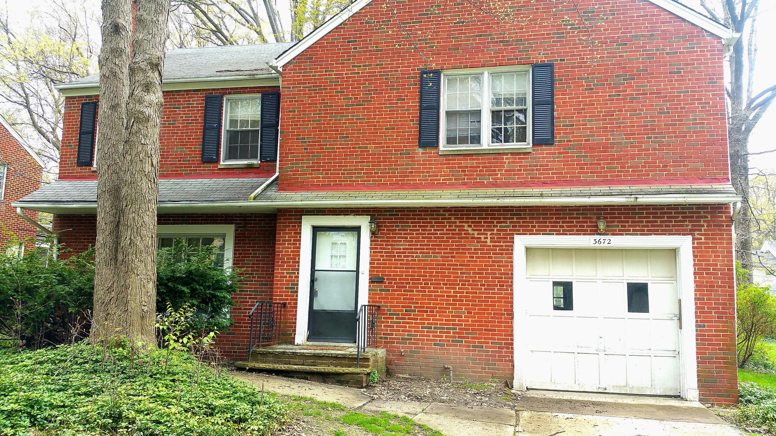 3672 Fenley Rd., Cleveland Hts. | 3 bed 2 bath | 1,967 Sq. Ft. | $36,000