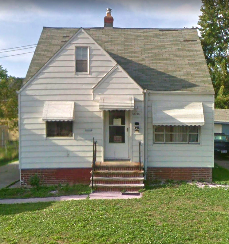 13705 Maplerow Ave., Garfield Hts. | 3 bed 1 bath | 1,134 Sq. Ft. | $39,900