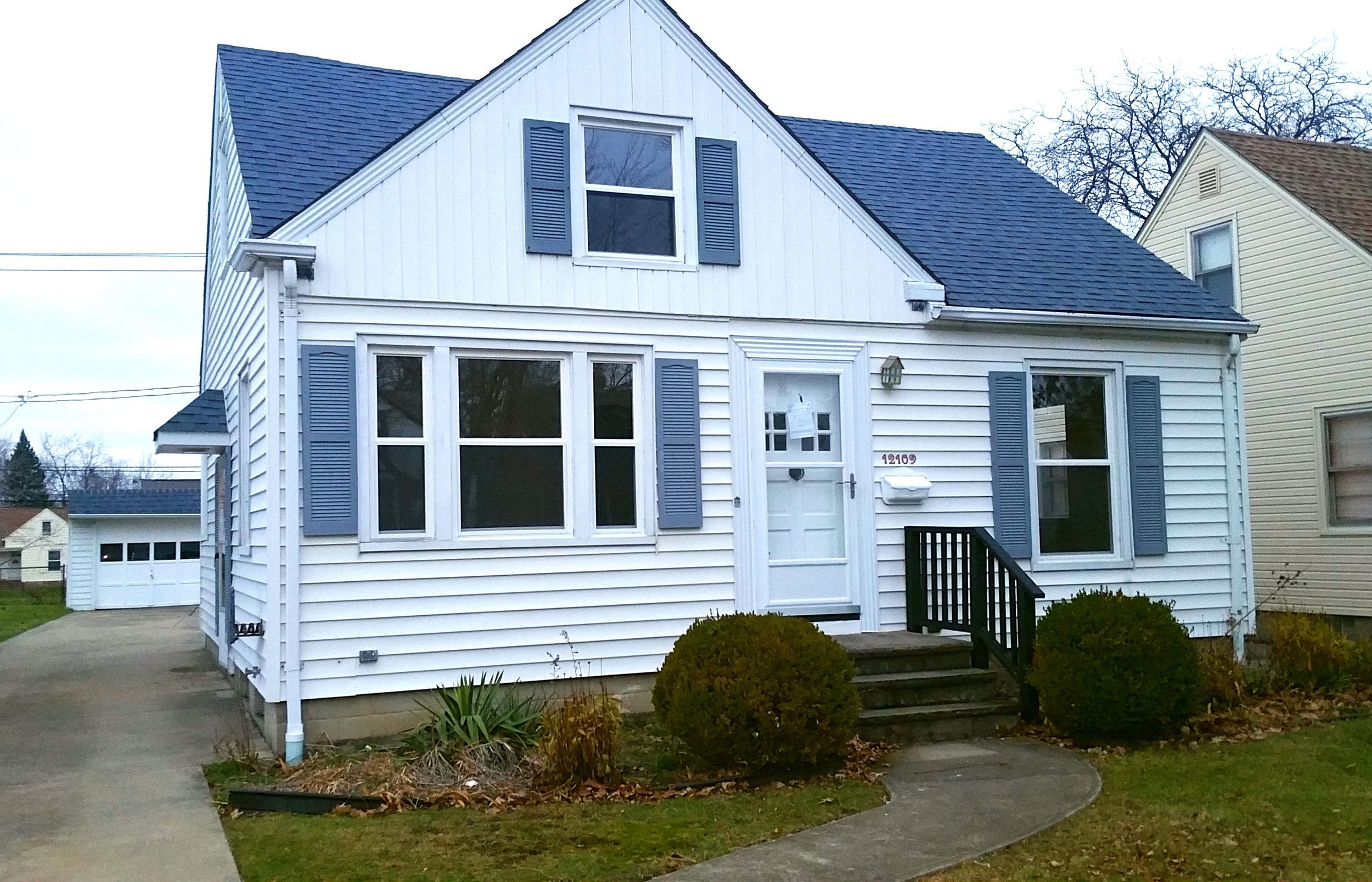 12109 Darlington Ave., Garfield Hts. | 4 bed 1 bath | 1,219 Sq. Ft. | $ 50,000