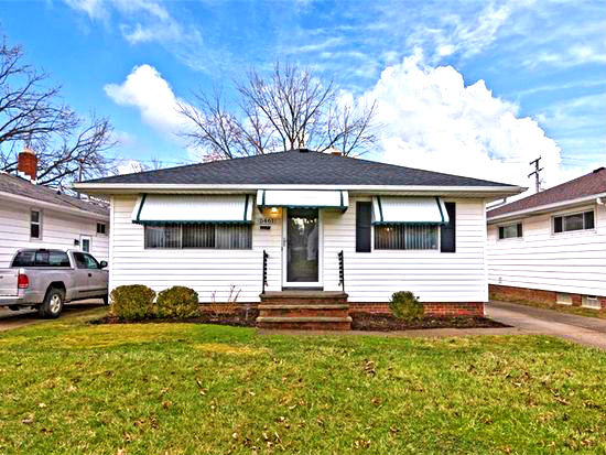 5461 Elmwood Ave., Maple Hts. | 3 bed 2 bath | 1,064 Sq. Ft. | $54,500