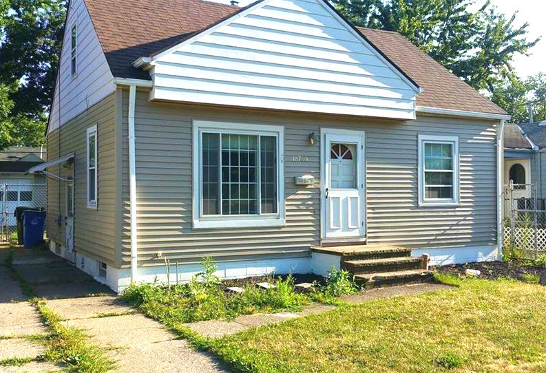 18705 Parkmount Ave., Cleveland | 3 bed 1 bath | 873 Sq. Ft. | $55,500