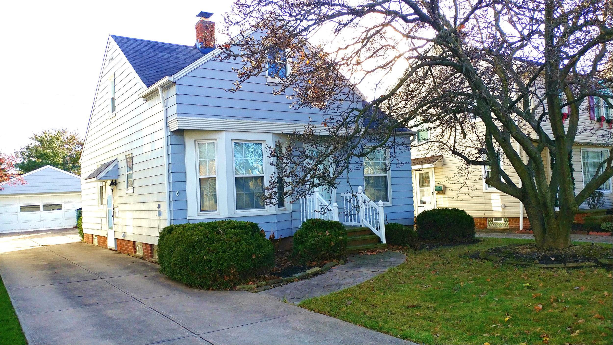 12924 Carpenter Rd., Garfield Hts. | 4 bed 2 bath | 1,635 Sq. Ft. | $70,000