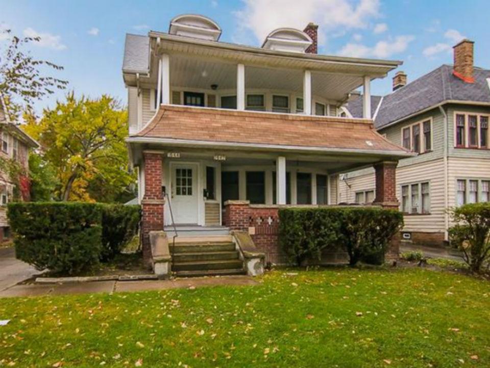 1642 Eddington Rd., Cleveland Hts. | 5 bed 2 bath | 3,715 Sq. Ft. | $110,000