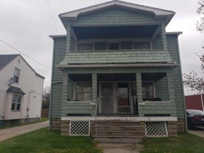 1267 E 170th St, Cleveland | 4 bed 2 bath | 3001 Sq. Ft. | $44,100