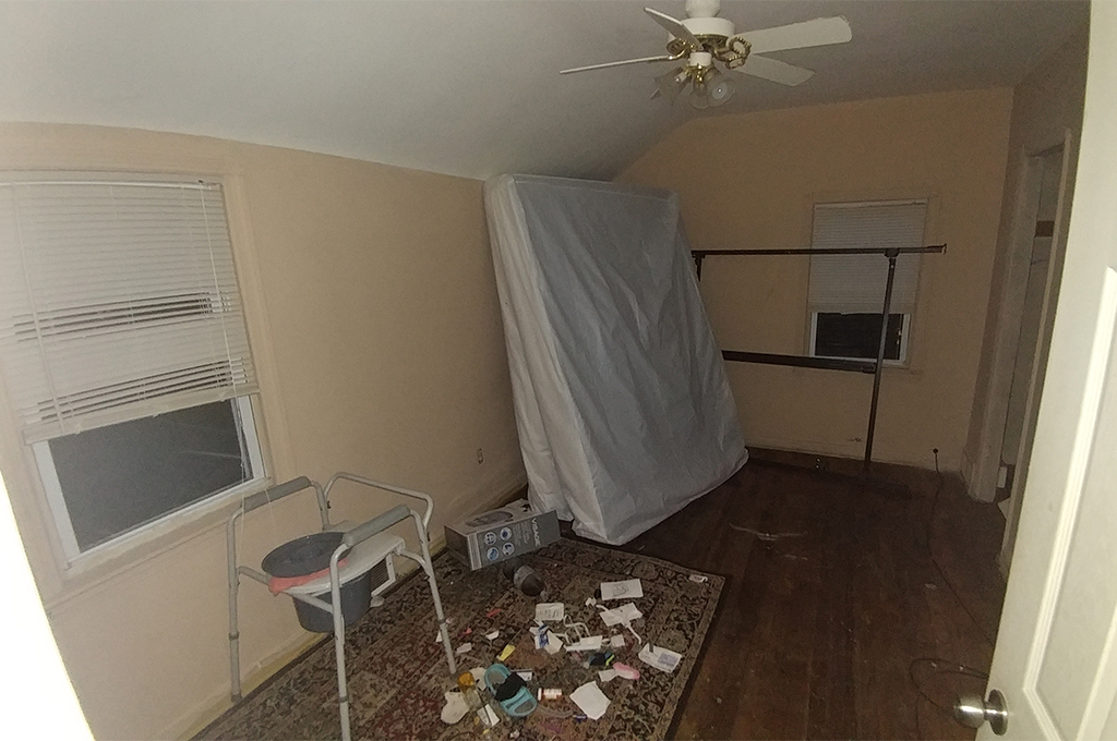 8008 Pelham Dr., Parma - Bedroom, Before Rehab