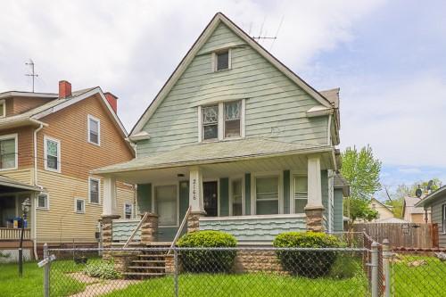 2166 W 96th St, Cleveland  3 bed 1 bath | 1,375 sqft | $33,000
