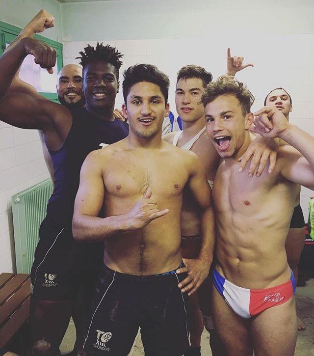 Da boyz! #footyshorts #footyboys #footy #gym #muscle #lockerroom Follow @footyboys