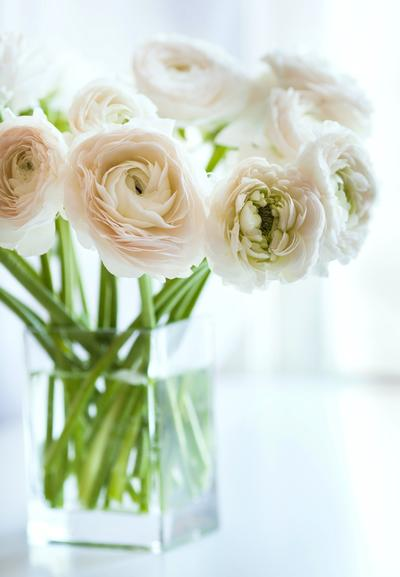 """TIPS FOR DECORATING WITH FRESH FLOWERS - While I can come up with an outfit for pretty much any occasion, I'm lost when it comes to outfitting my new apartment. And on a tight budget, you don't have a ton of extra cash to spend on cute décor, let alone much space to put it. But there are a few easy and budget-friendly ways you can make an apartment look nice. My favorite is decorating with fresh flowers. Even a small bouquet will cheer up my postage stamp-size apartment. """"Flowers add freshness to a room,"""" says interior designer Tamara Sayago-Dunner. """"It's a welcoming symbol."""" Keep in mind Tamara's tips for decorating your space with flowers on a budget! Read full article at divinecaroline.com"""
