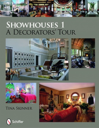 INTERIOR DESIGN BOOK FEATURES - Showhouses 1: A Decorators' Tour