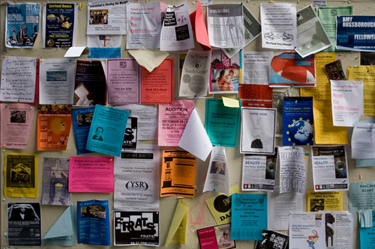 College Bulletin Board