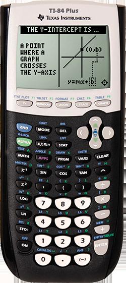 TI 84 Plus Graphing Calculator -