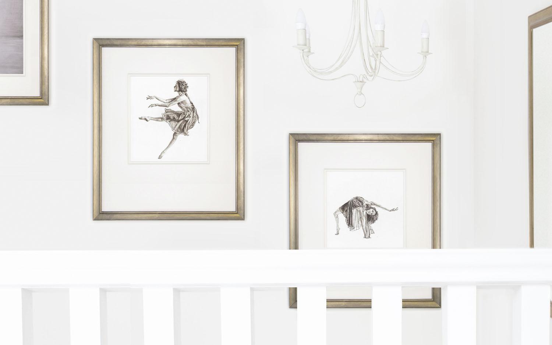 Beautiful ballet art by Jennifer Glover