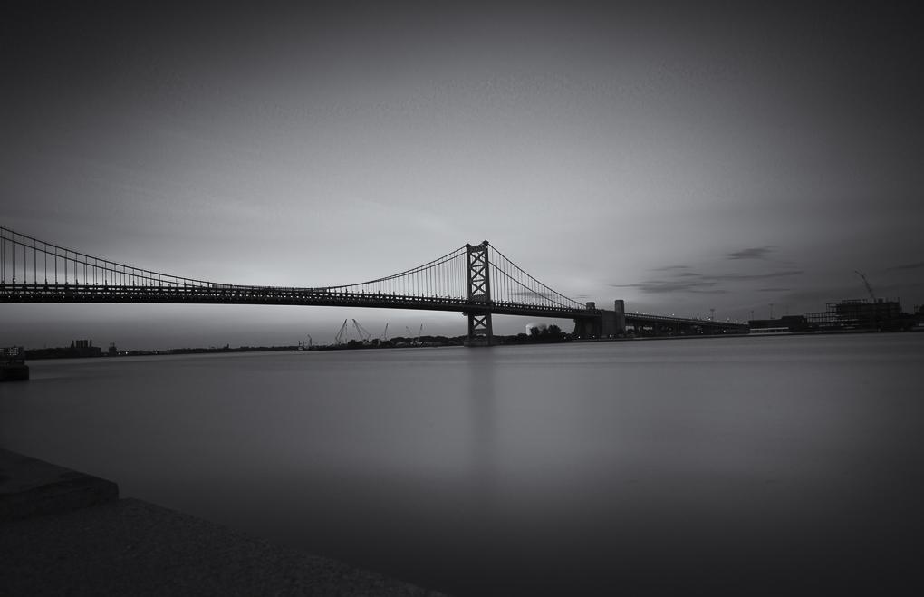 Ben Franklin Bridge (Penn's Landing)