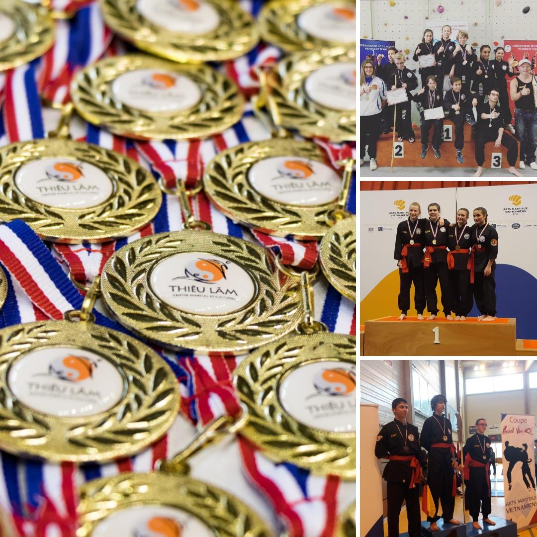 Équipe compétition Centre Thiêu Lâm
