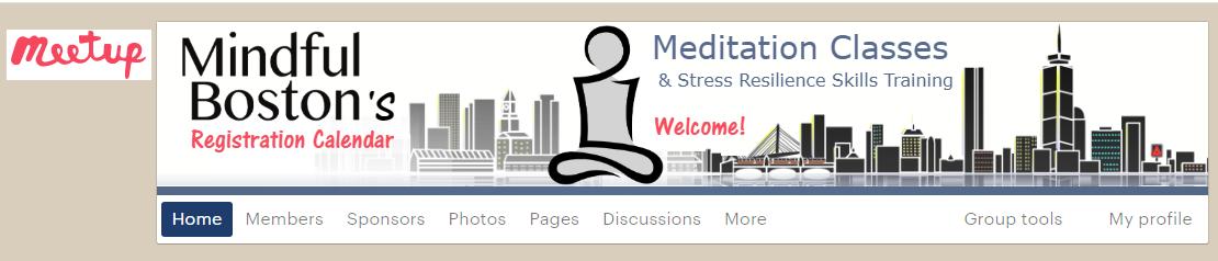 meditation classes at meetup