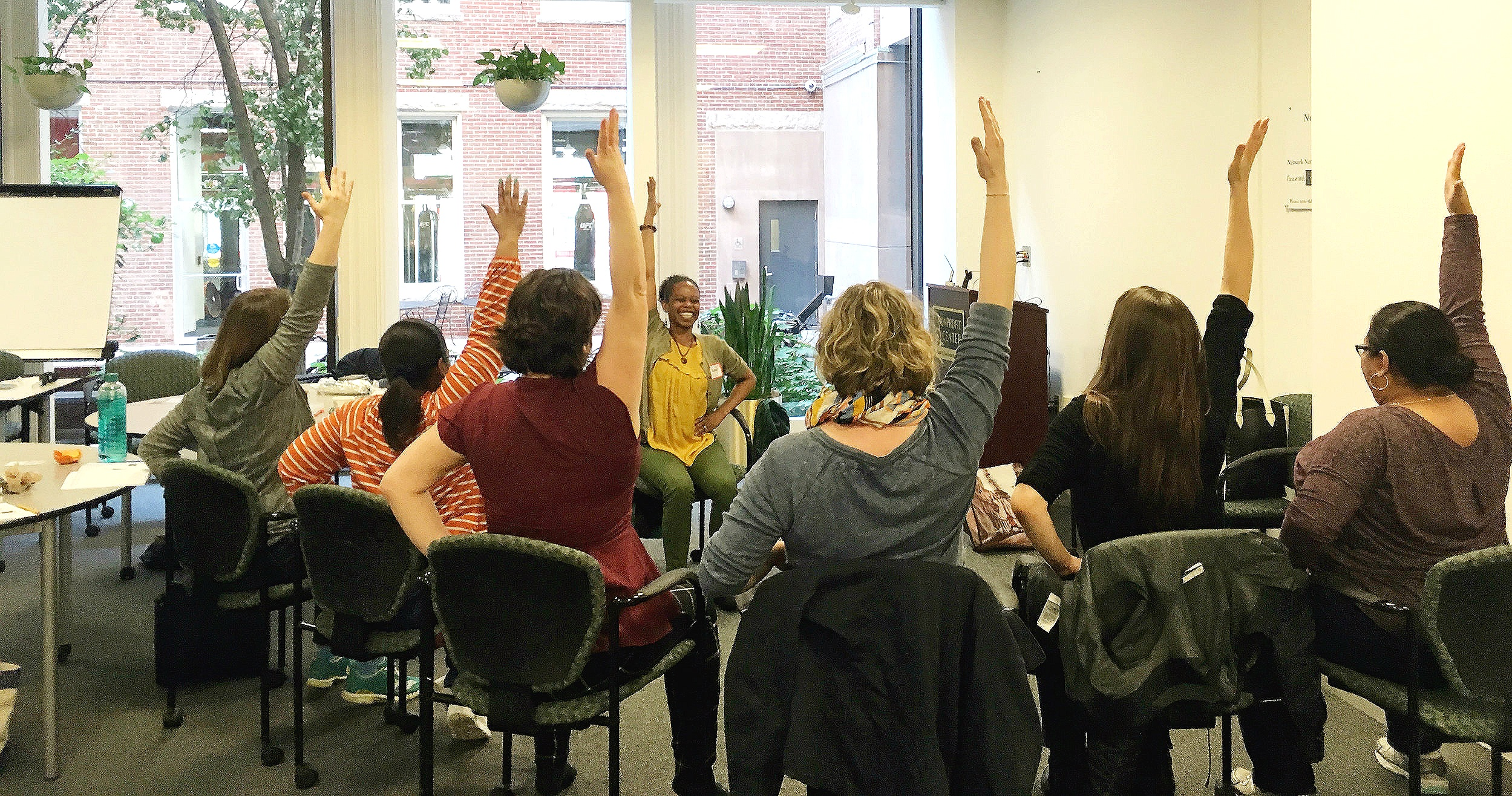 chair yoga at mindful boston
