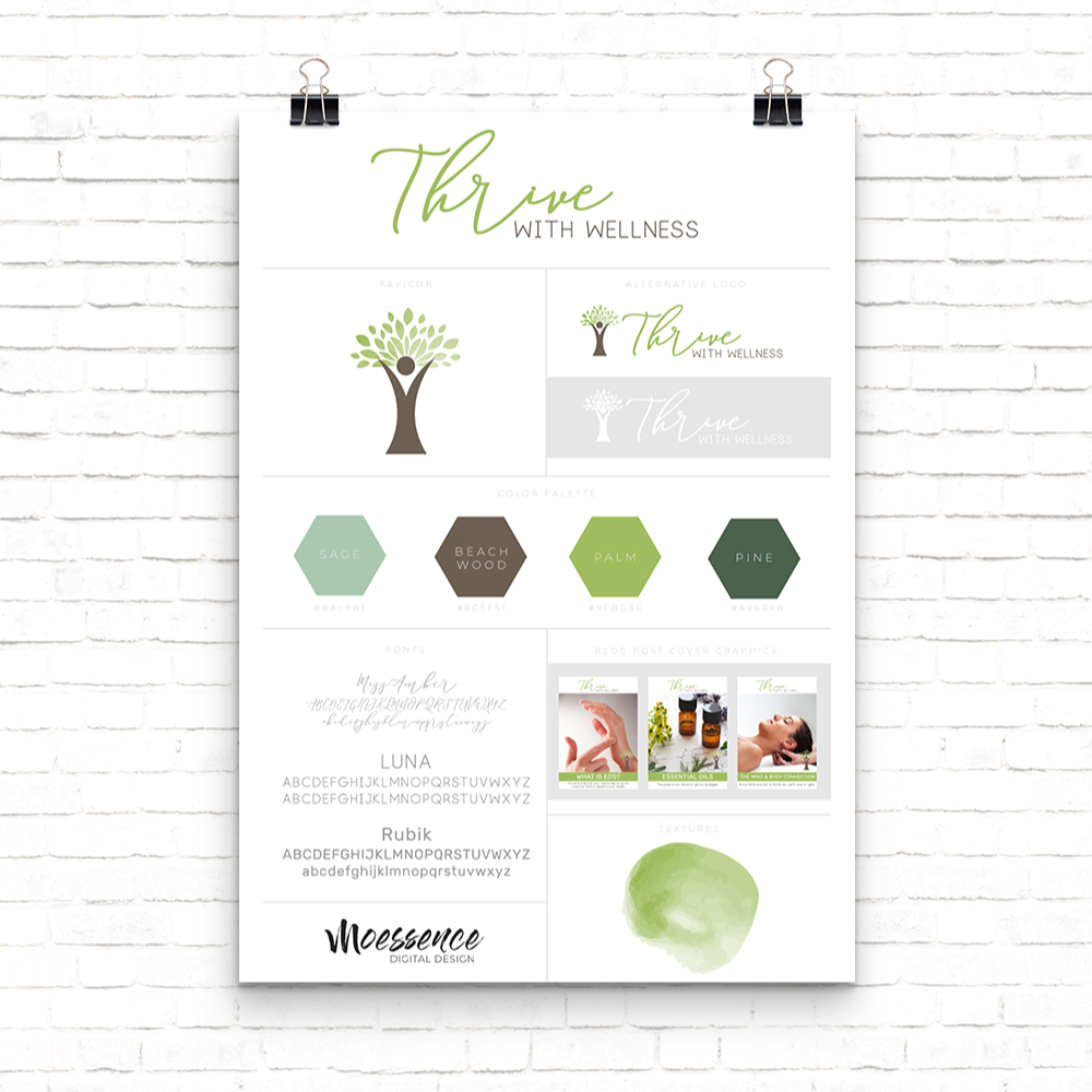 branding-logo-green-modern-natural-moessence-digital-design