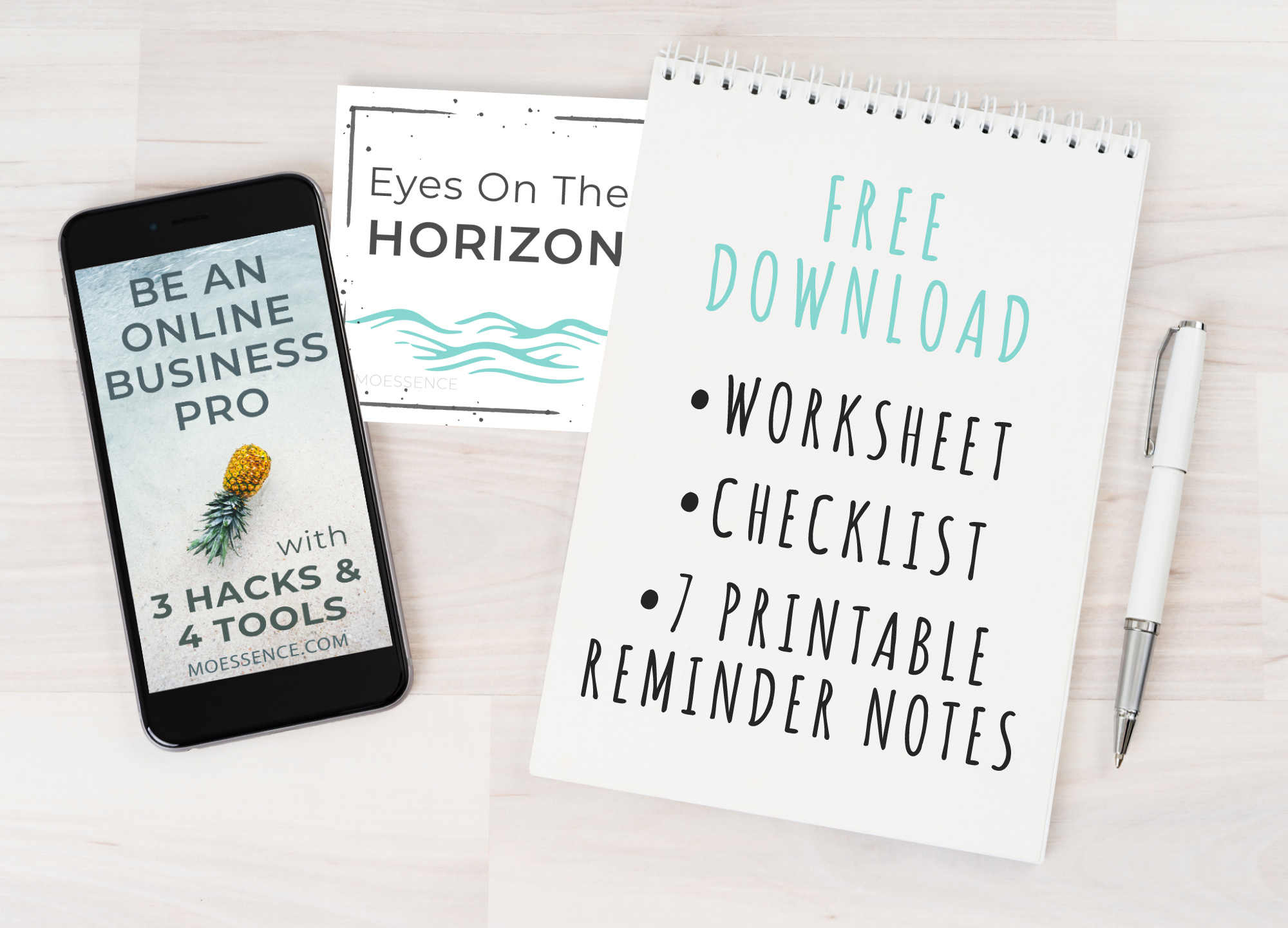 3 HACKS & 4 TOOLS - I have found real business magic!The 7 most powerful tools and real strategies to fast track your business and dreams.Your goals won't be on the sidelines any longer. Get more done. Feel less overwhelmed and stressed. Feel like a professional - and like a real grown up.