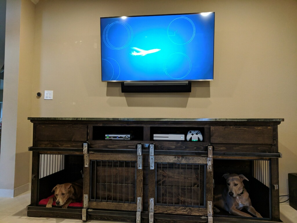 Custom Entertainment Piece, Texas