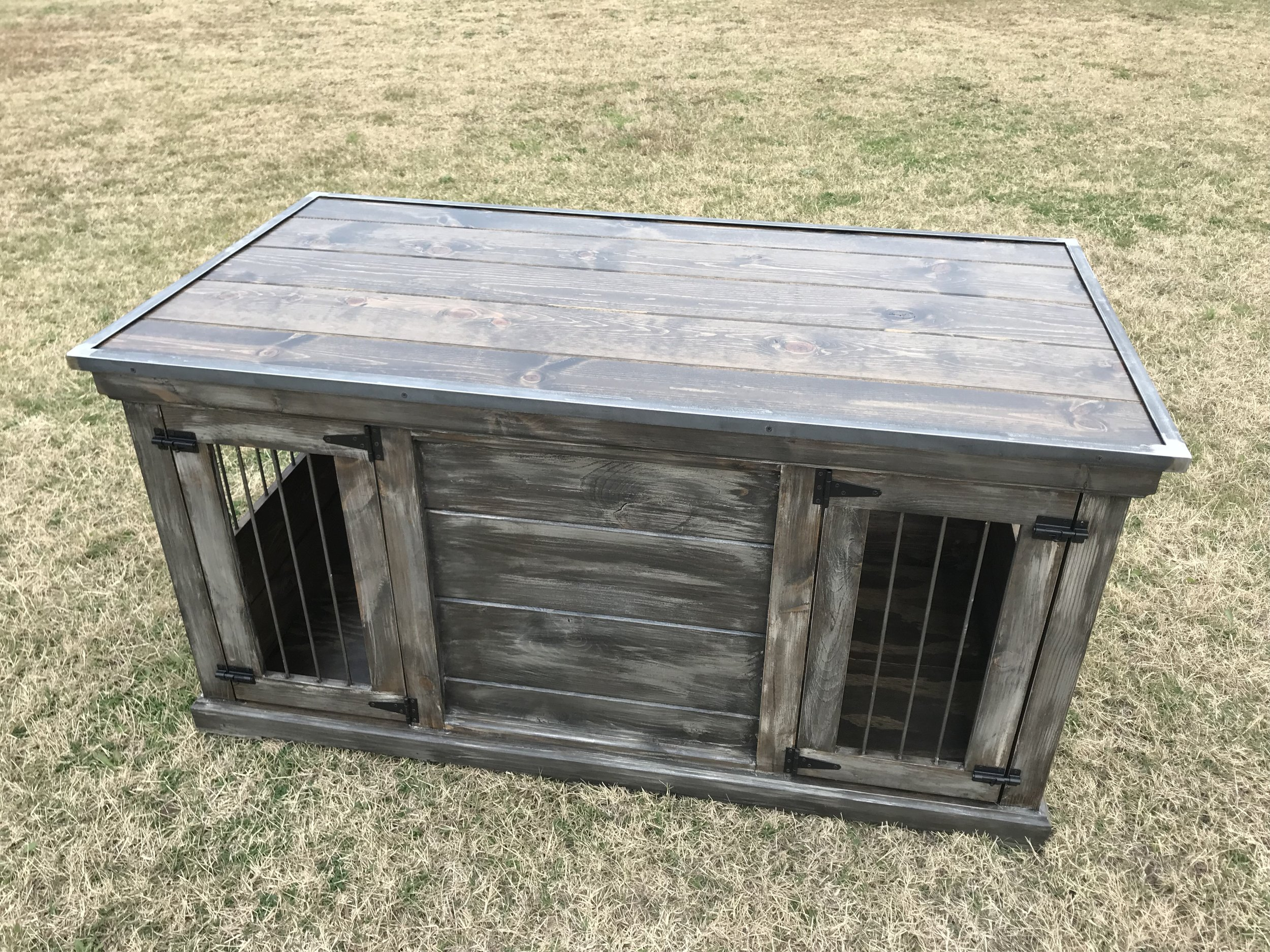 Medium Double, Weathered, Closed Front, Edmond