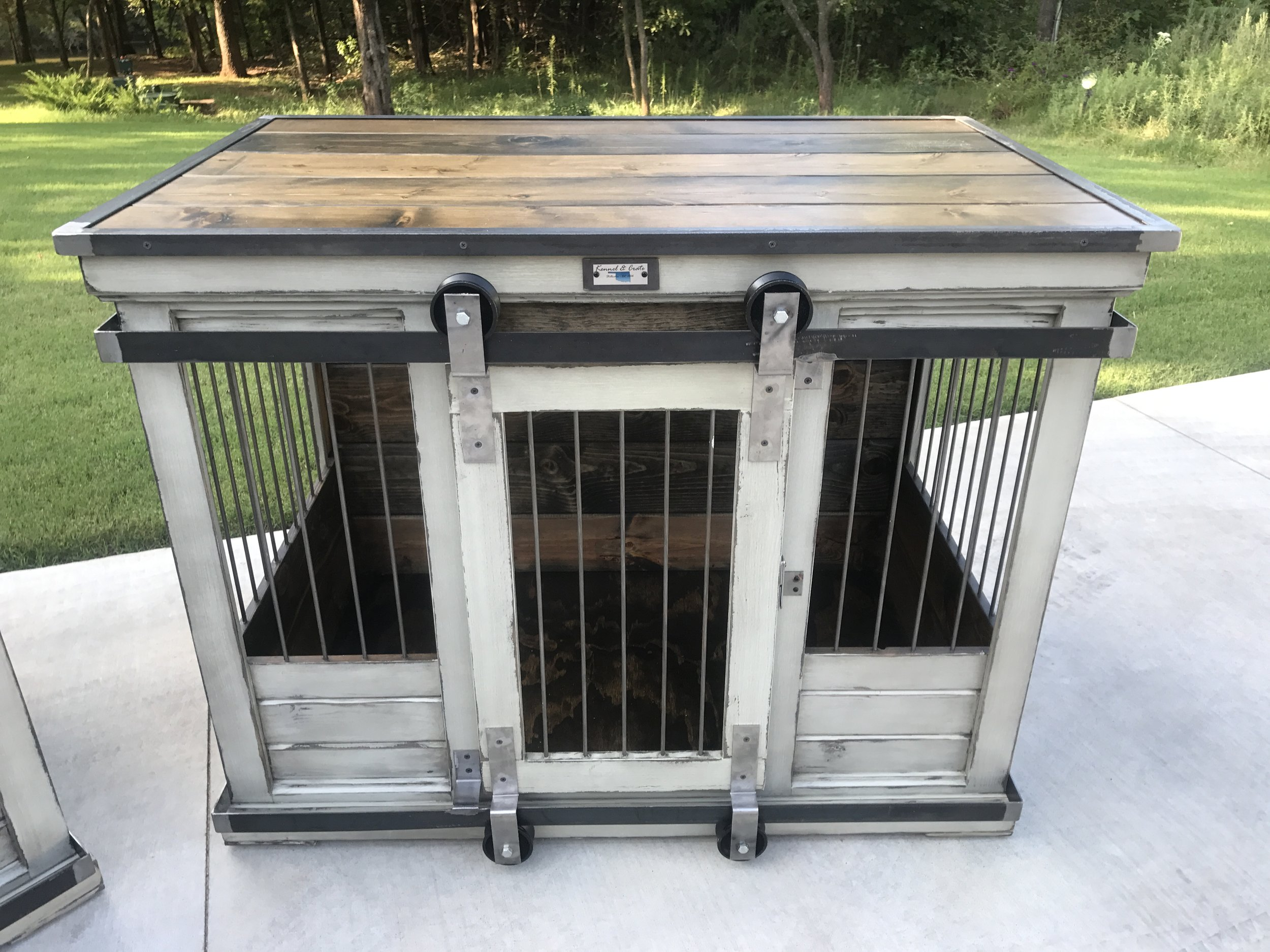 kennel  dog kennel  dog furniture  stylish kennel  dog kennel furniture  dog kennel dresser  kennel tv stand  custom dog kennel  okc dog kennels  stillwater custom kennels