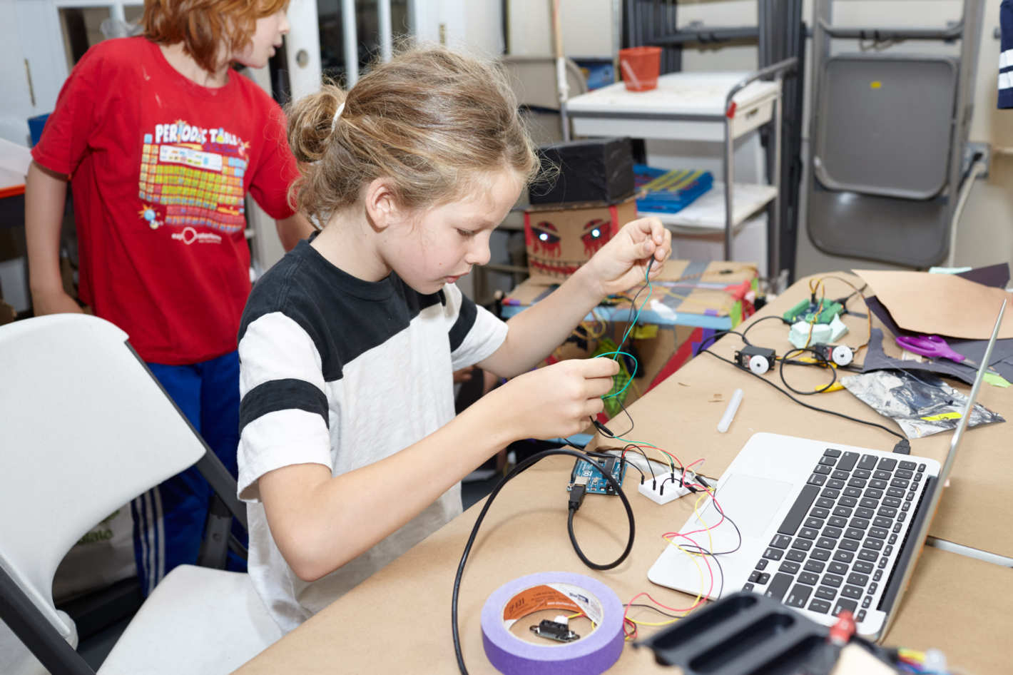 STEAM skills for a brighter future  - We teach STEAM skills (Science, Tech, Engineering, Art & Math) in an exciting and interactive environment for children aged 5-18. Learn more about our Programs