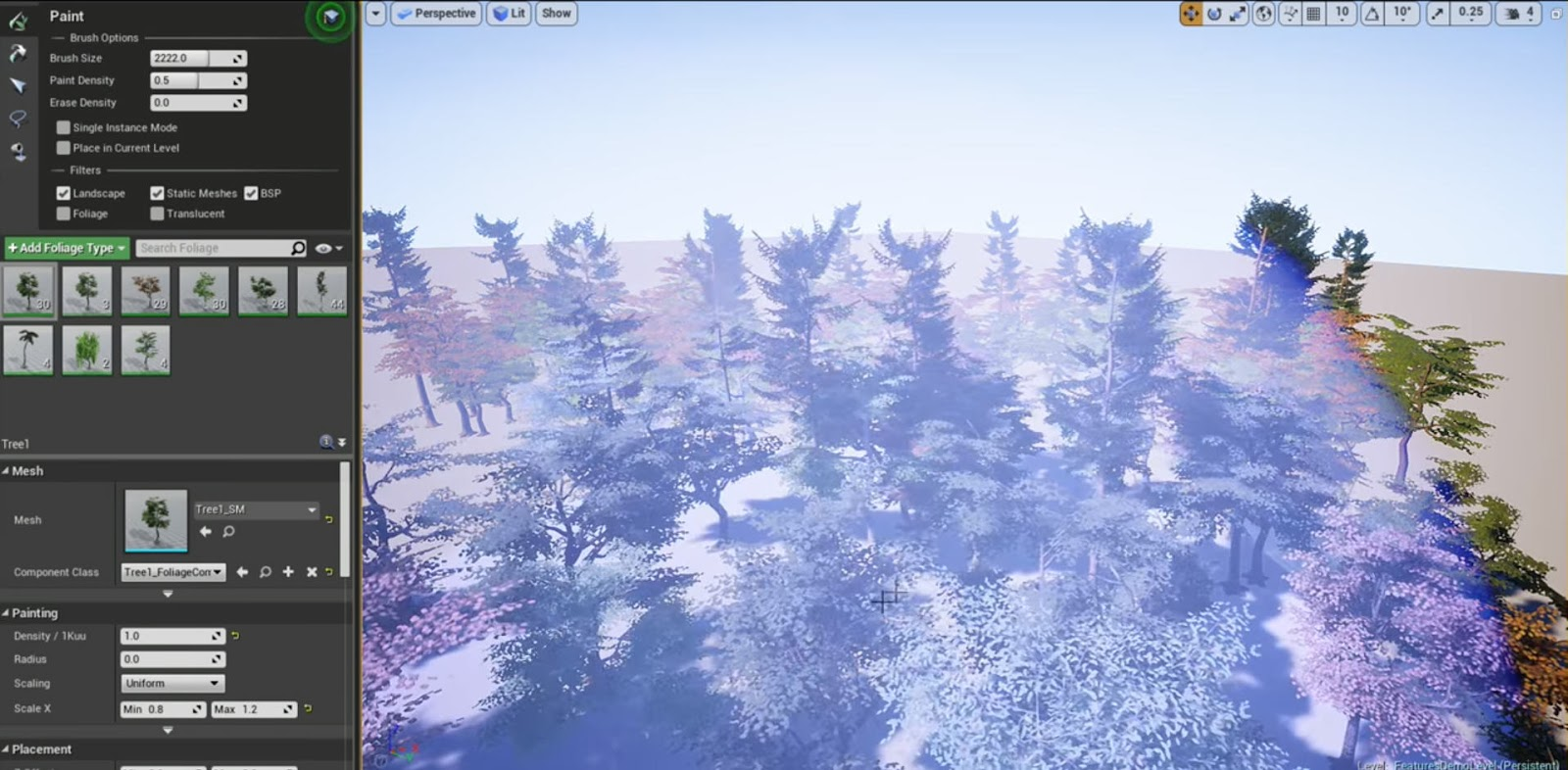 Interactive Tree Creator for Unreal Engine 4 04.jpg
