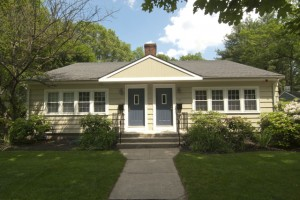 Our home in Waban