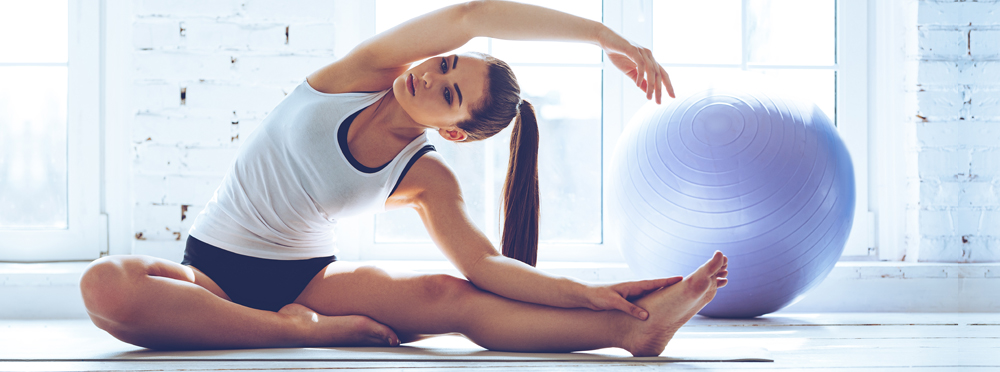 Pilates - Concentration, Breathing,Centering, Control, Precision,Flow, Isolation and Routine.