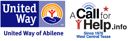 United Way of Abilene 2-1-1 Texas A Call for Help.png